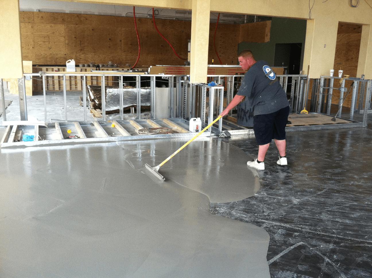 concrete topping level floor